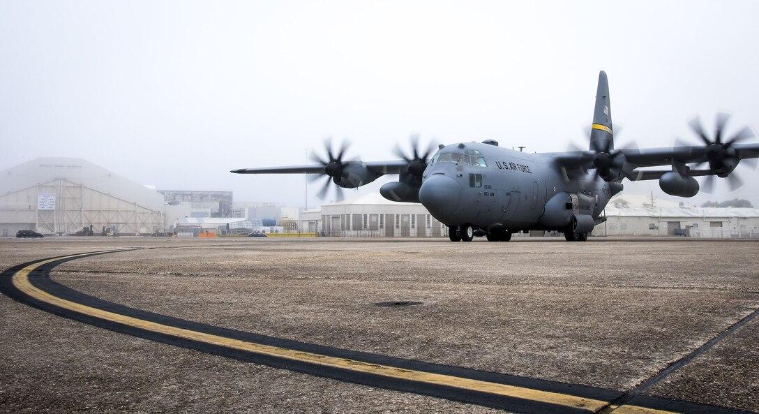 Upgraded C-130H begins testing