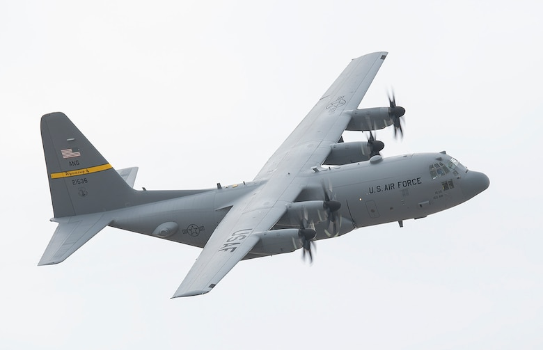 Upgraded C-130H arrives for testing