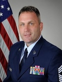 Chief Master Sgt. Anthony J. Fisher, 81st Training Group superintendent, Keesler Air Force Base, Miss