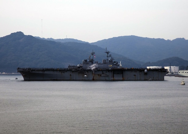 USS Wasp Arrives in Sasebo to Join Forward Deployed Naval Forces