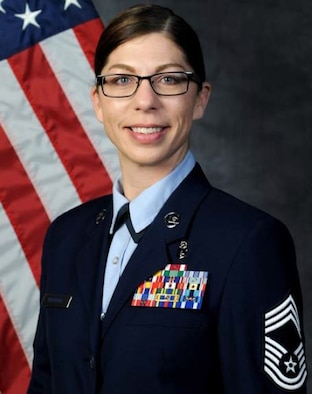 Chief Master Sgt. Julie M. Bottroff, 81st Medical Group superintendent, Keesler Air Force Base, Miss.