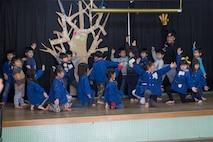Marine Memorial Chapel visits local preschool in community relations event