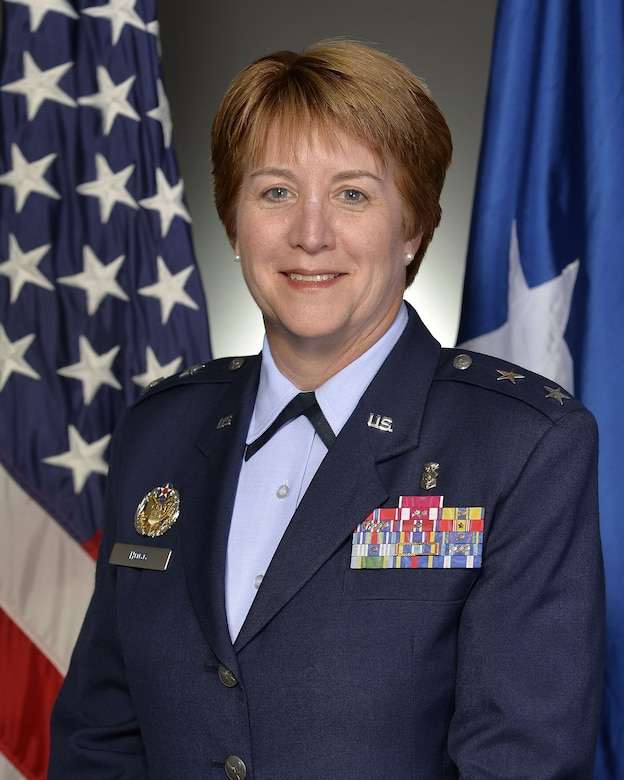 Official photo of Maj. Gen. Dorothy A. Hogg, Deputy Surgeon General and Chief of the Air Force Nurse Corps (U.S. Air Force)