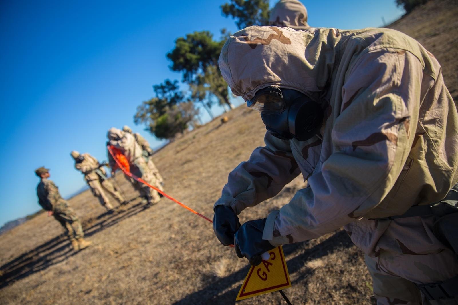 1st Marine Logistics Group Reconnaissance, Surveillance and Decontamination Course
