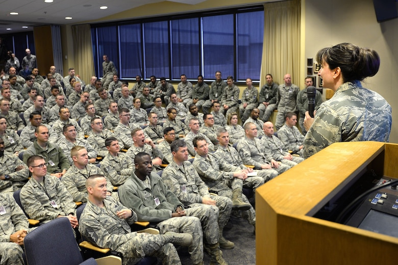 50th SW holds first 2018 commander's call