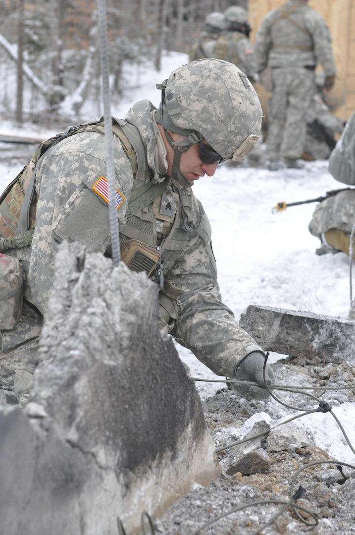 Combat Engineer Training