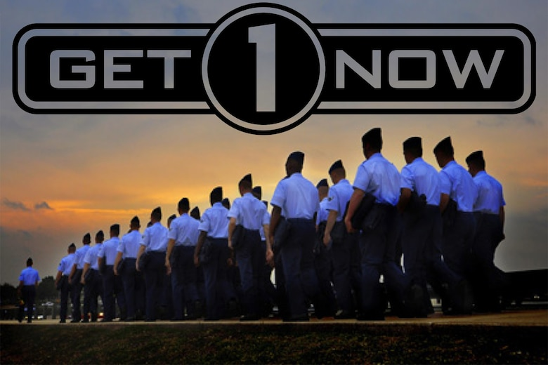 Recruiters are in charge of finding candidates for jobs but now Airmen can help with that effort. The Get 1 Now program gives reservists a chance to recommend qualified people to the Air Force Reserve. If the referral goes through and the person is qualified, the service member is eligible to win one of many prizes. (U.S. Air Force graphic)