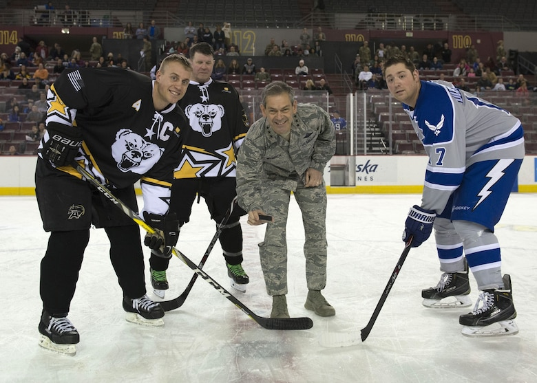 Air Force triumphs in 5th annual hockey game against Army   Joint ... fabadfdef18