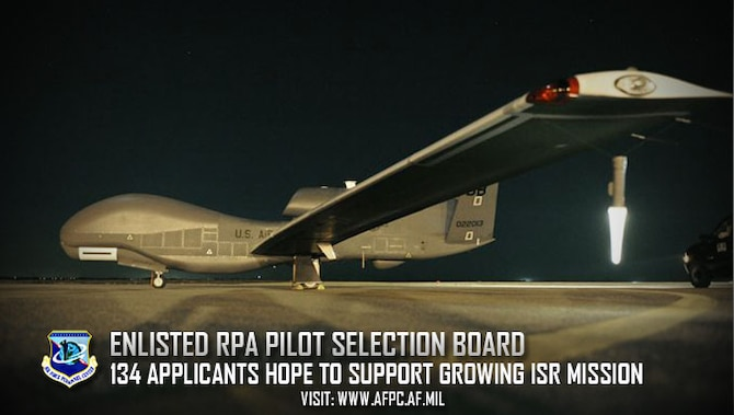 Second annual Enlisted RPA Pilot Selection Board convenes at AFPC