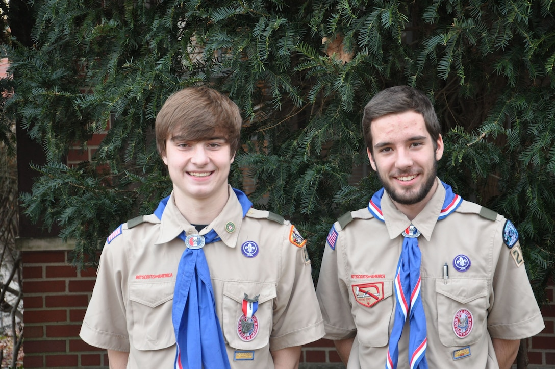 Local scouts earn prestigious honor of Eagle Scout badge