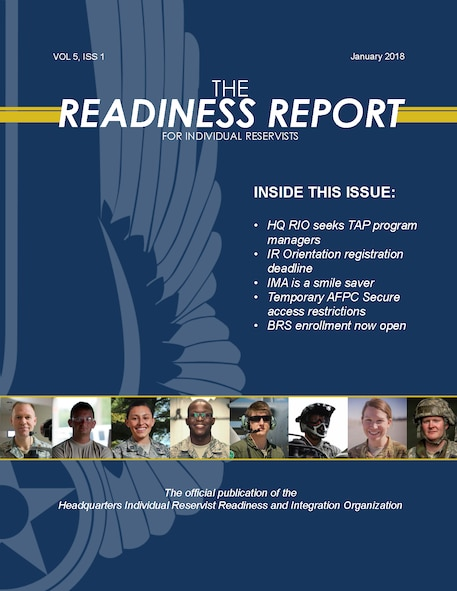 The Readiness Report, Vol. 5, Iss. 1, Cover