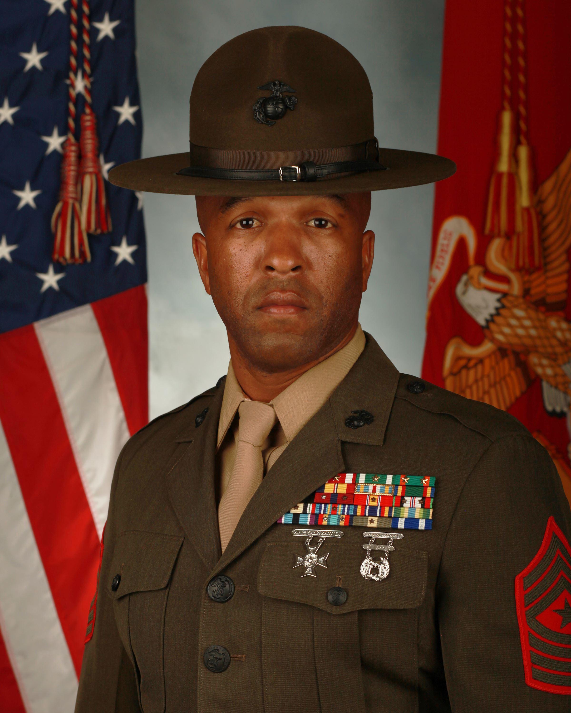 Sgt Maj Christopher D Thomas Marine Corps Recruit Depot