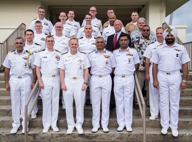 U.S. and Indian navy leadership met in Pearl Harbor, Hawaii, Jan. 17-19, to discuss engagements between the two nations throughout the year. The executive steering group discusses everything from exercises and subject matter expert exchanges to theater security cooperation and defense procurement.