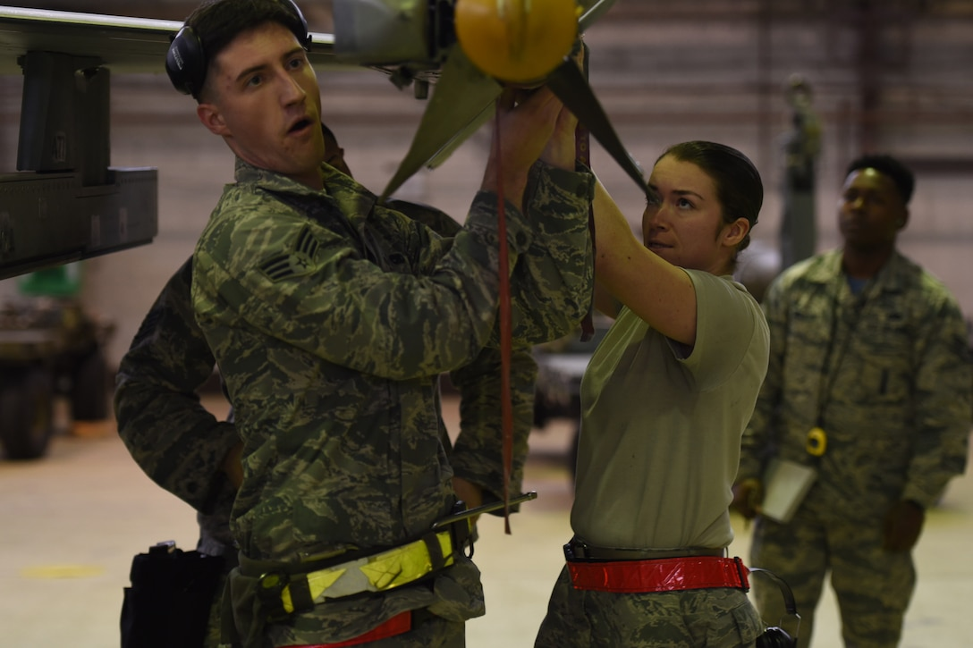 The competition featured two teams competing to be the final crew selected for the 2017 Annual Load Competition later this month.