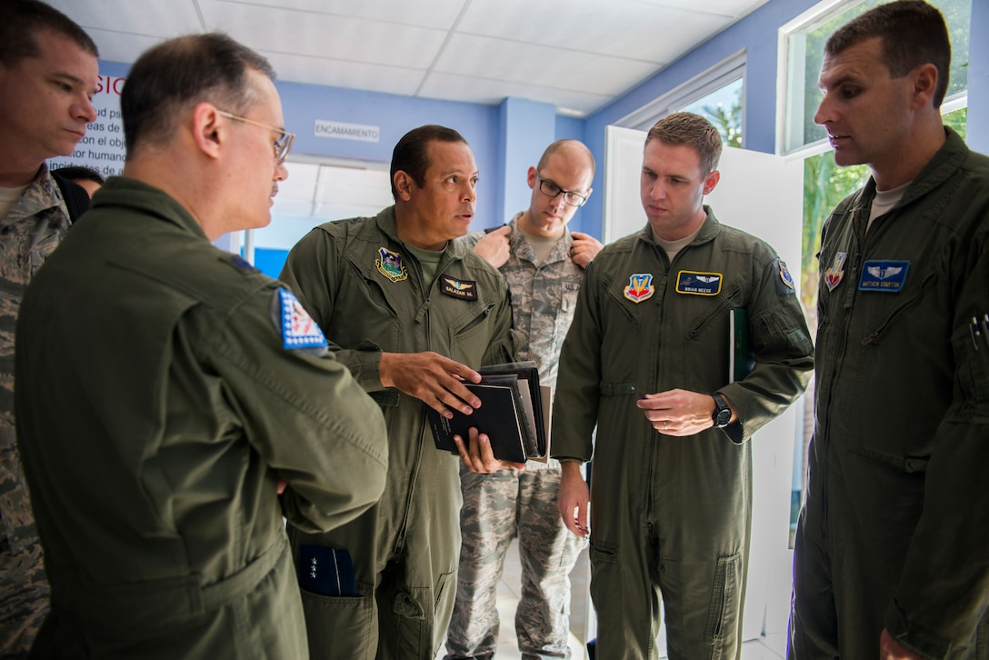 U.S. Air Force Flight Medicine International Health Specialists (IHSs) worked with the Guatemalan air force build and develop their Flight Medicine Clinic in Guatemala City, Guatemala, January 2015. IHSs often engage in subject matter expert exchanges to build strong partnerships with such countries as Guatemala. (U.S. Air Force photo)