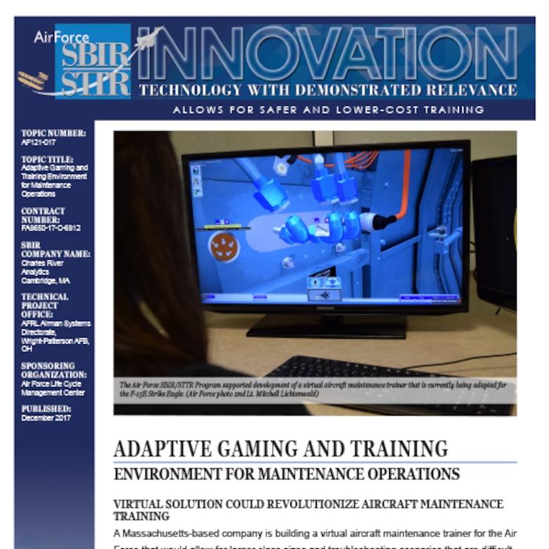 Charles River Analystics AF121-017 Image