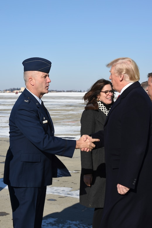 President Trump Arrives at 171st