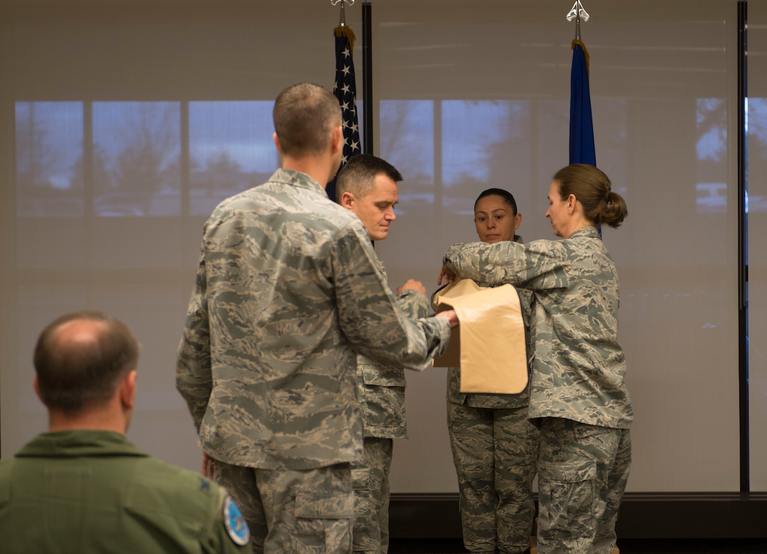 During the ceremony, Nulty expressed her pride in the squadron's decade of service.