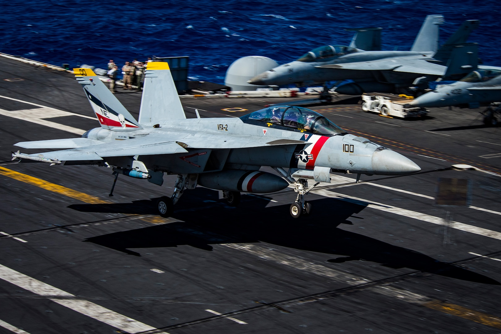 Carl Vinson Aviators Complete 1000th Trap