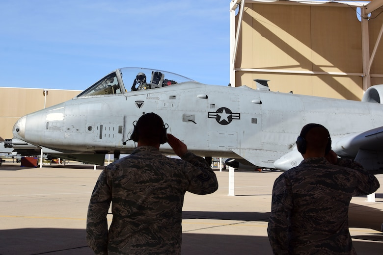 A-10 returns as a single-ship demonstration