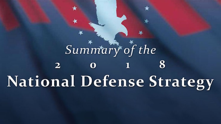 graphic shows National Defense Strategy