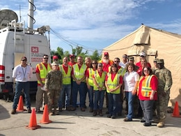 U.S. Virgin Islands Nov. 23, 2017: This week the Emergency Temporary Power Teams switched out. Job well done to Tulsa District, U.S. Army Corps of Engineers - welcome to the team from WallaWallaUSACE! Happy Thanksgiving!