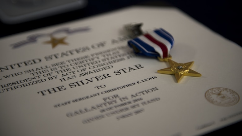 Silver Star awarded for Mosul Offensive