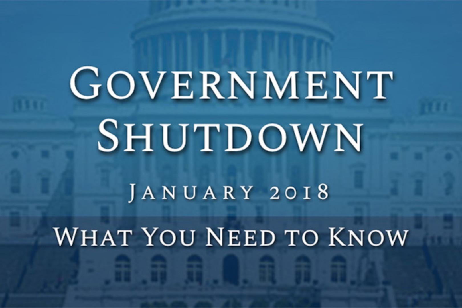 Government Shutdown graphic