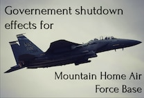 Government Shutdown effects for Mountain Home AFB