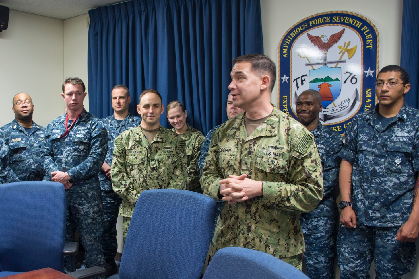 CTF 76 Welcomes New Commander