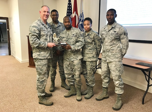 Members of the 717th Air Base Squadron post office won the 2017 Team DOD Award for Ankara.