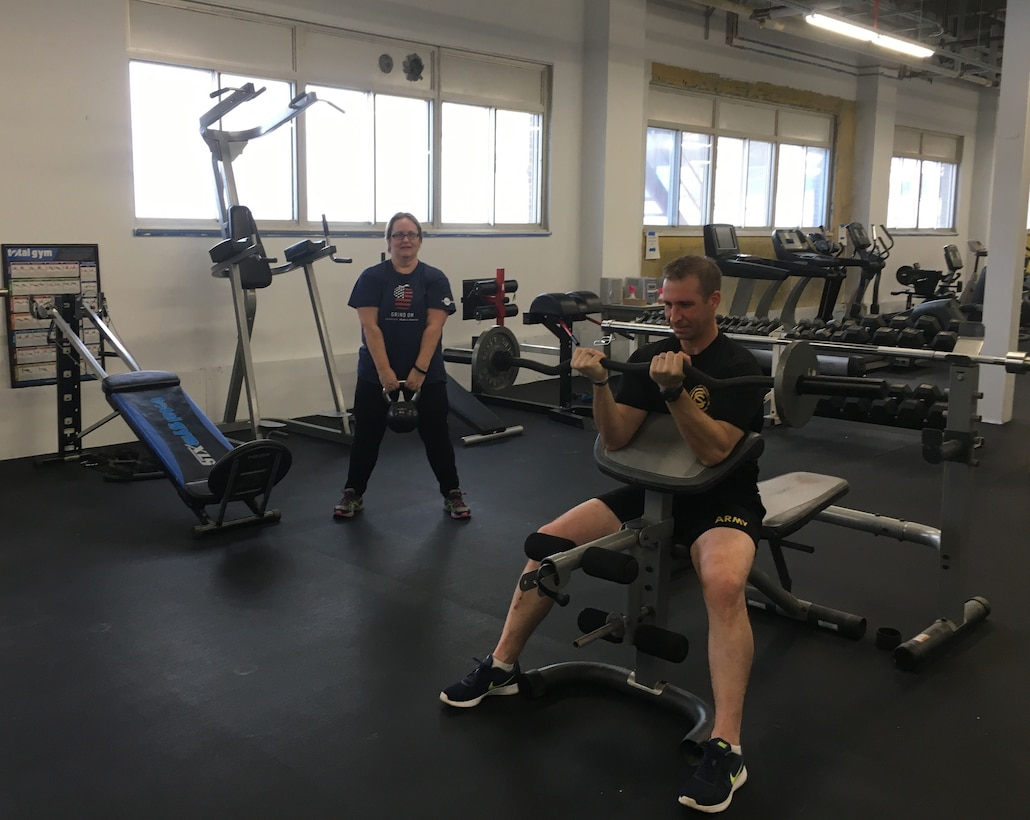 Cold Regions Lab gains fitness area