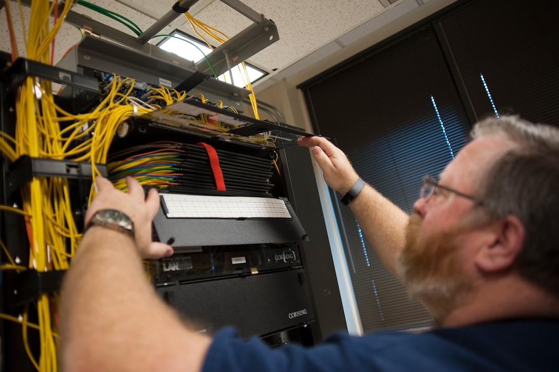 Network Server room work