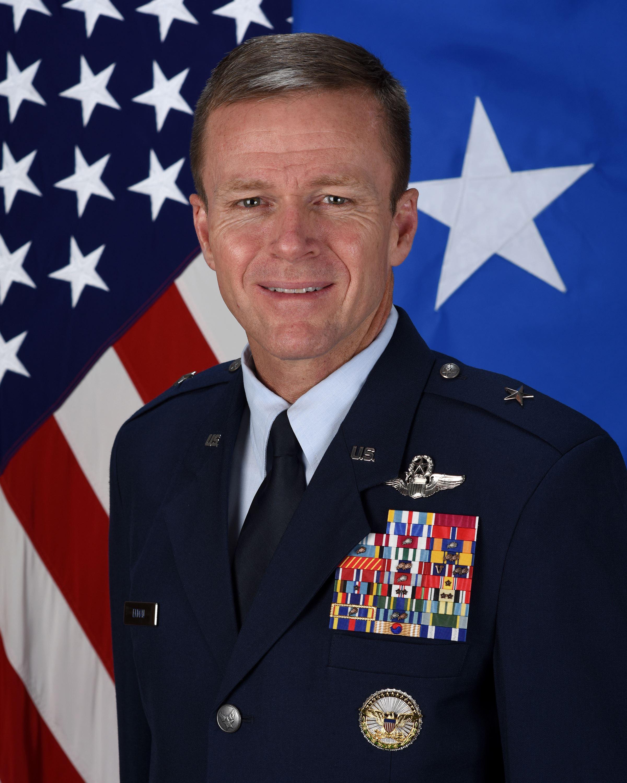 brigadier general kenneth p ekman u s air force biography display