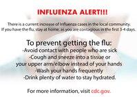 Influenza alert
