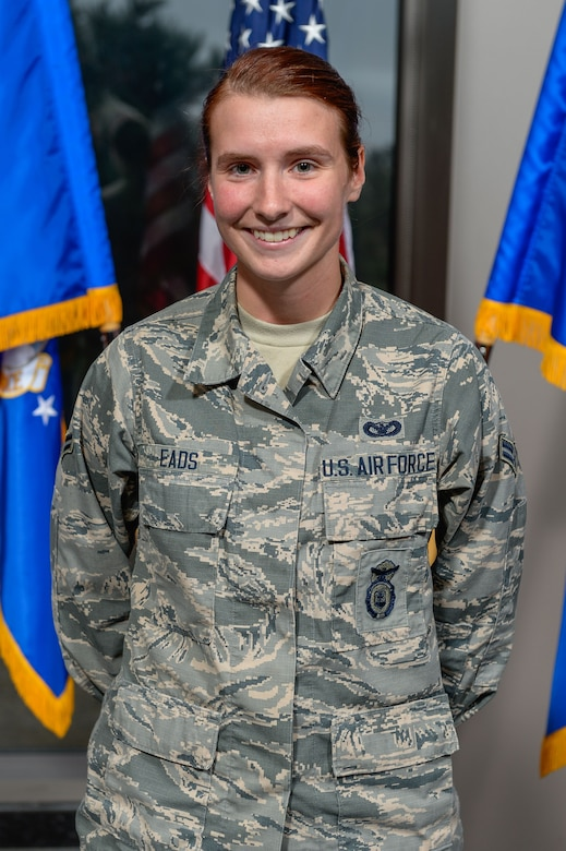 Airman First Class Erin Eads, 50th Security Force Squadron. (Courtesty Photo)