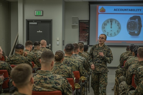 Introduction to Corporals Course 3-18 1st Marine Logistics Group