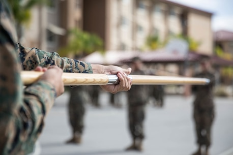 Sword Manual Corporals Course 3-18 1st Marine Logistics Group