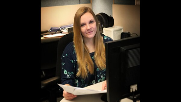 Tamie Haines is a contract administrator at Defense Contract Management Agency Lockheed Martin Orlando in Florida who also serves in the Air National Guard. She joined the DCMA team in 2014. (DCMA photo courtesy of Tamie Haines)