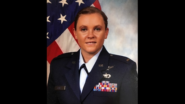 Tamie Haines is a contract administrator at Defense Contract Management Agency Lockheed Martin Orlando in Florida. She was also recently promoted as a second lieutenant in the Air National Guard. (DCMA photo courtesy of Tamie Haines)