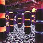 Get your game on and put your aiming skills to the test with laser tag, a popular family fun center activity.
