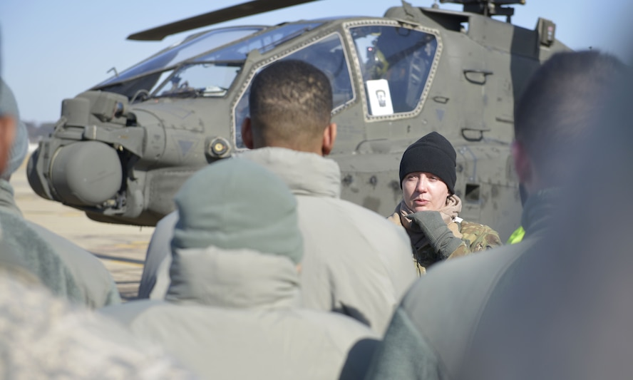 Osan personnel get familiar with Apache