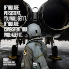 Quote of the Day: If you are persistent, you will get it. if you are consistent you will keep it.