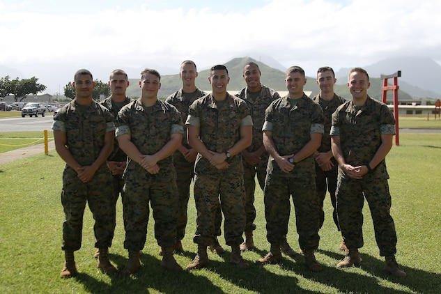 U.S. Marine Capt. Kenneth LaLonde credits his success as the 2017 III Marine Expeditionary Force Logistician of the Year to his team of Marines.