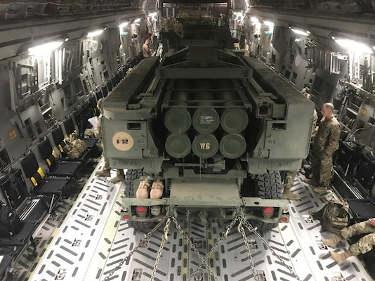 Load practice underway in Middle East