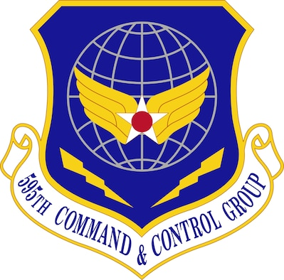 595th Command and Control Group Shield