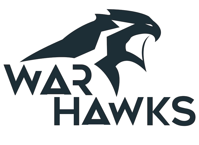The War Hawks name was chosen by Col. Michael Manion, 55th Wing commander, to represent the 55th Wing in the months following his change of command on June 8, 2017.