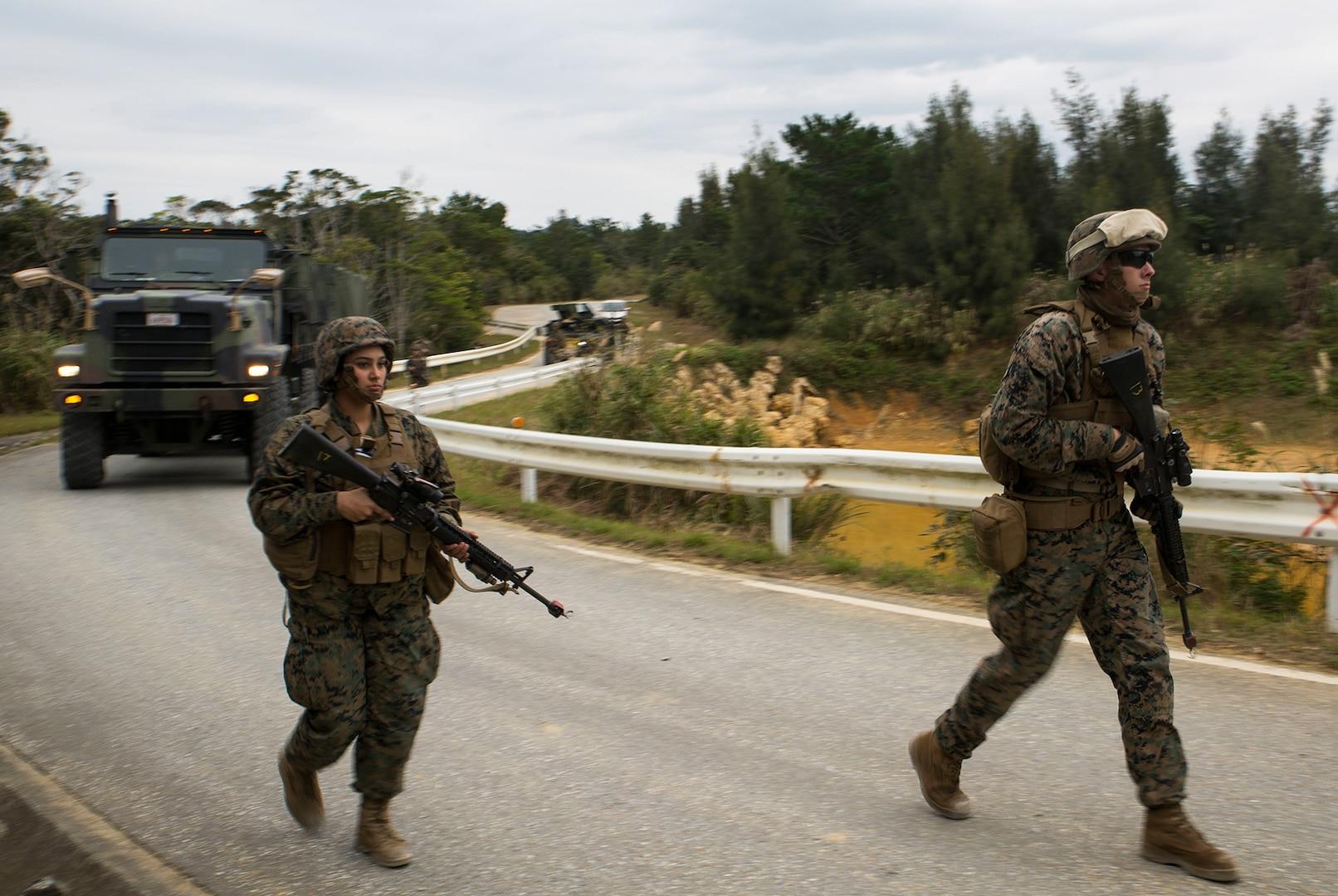 Okinawa-based Marines refine skills during Exercise Samurai