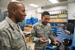 CMSAF Wrights visits Sheppard AFB
