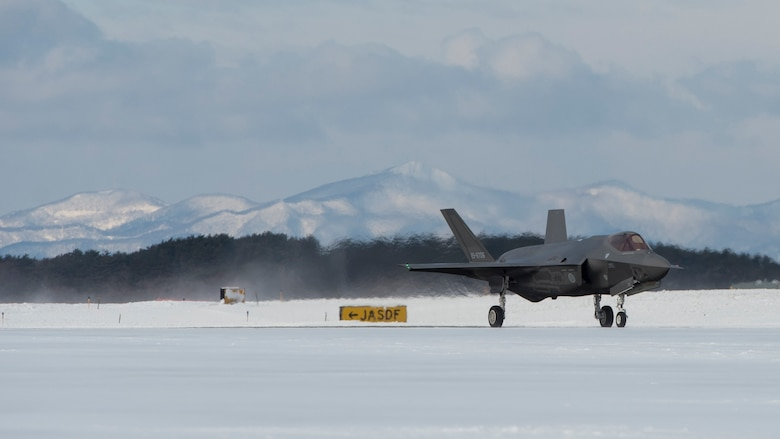 First operational JASDF F-35A makes its debut at Misawa AB
